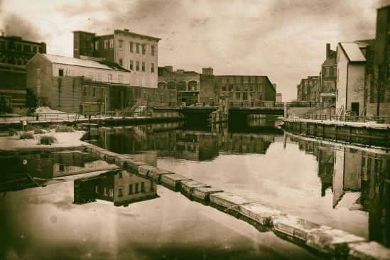 The Lowell Canal